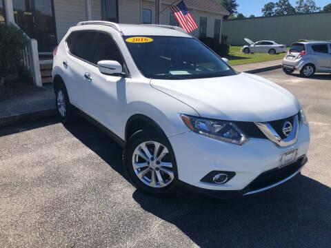 2016 Nissan Rogue for sale at J. MARTIN AUTO in Richmond Hill GA