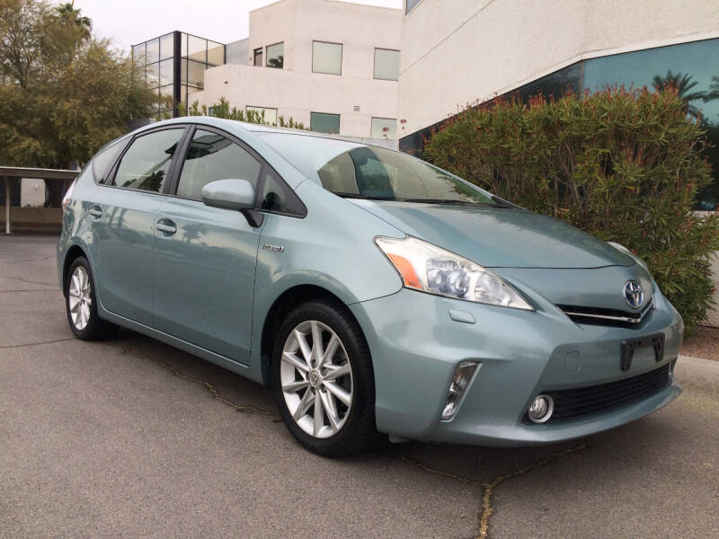 2013 Toyota Prius v for sale at Nevada Credit Save in Las Vegas NV