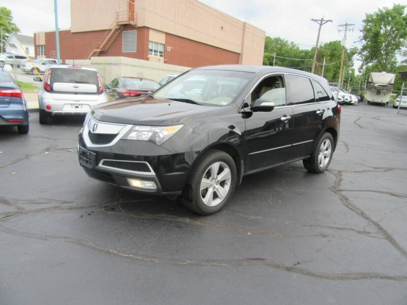 2010 Acura MDX for sale at Riverside Motor Company in Fenton MO