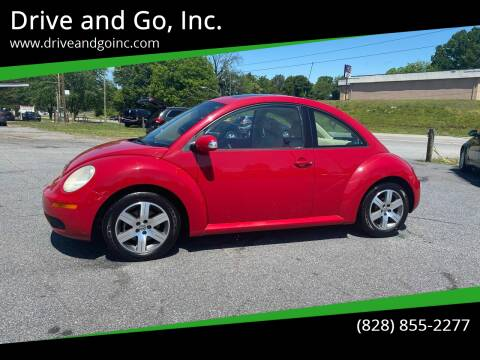 2006 Volkswagen New Beetle for sale at Drive and Go, Inc. in Hickory NC