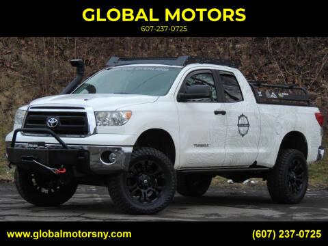 2013 Toyota Tundra for sale at GLOBAL MOTORS in Binghamton NY