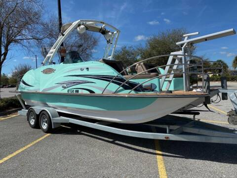 2017 Caravelle Razor 238 Pontoon Crossover for sale at Select Motor Group in Macomb Township MI
