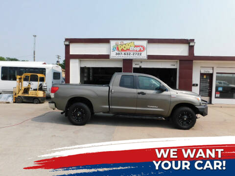 2010 Toyota Tundra for sale at Pork Chops Truck and Auto in Cheyenne WY