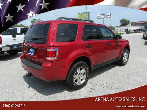 2011 Ford Escape for sale at ARENA AUTO SALES,  INC. in Holly Hill FL