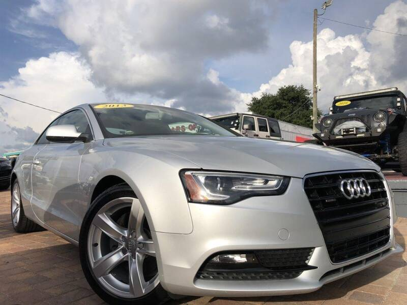 2013 Audi A5 for sale at Cars of Tampa in Tampa FL