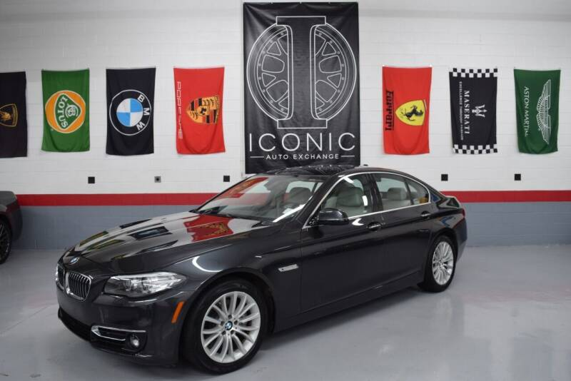 2016 BMW 5 Series for sale at Iconic Auto Exchange in Concord NC