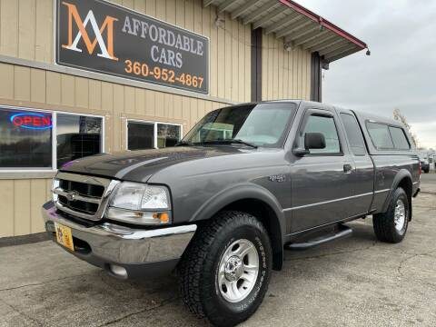 2000 Ford Ranger for sale at M & A Affordable Cars in Vancouver WA