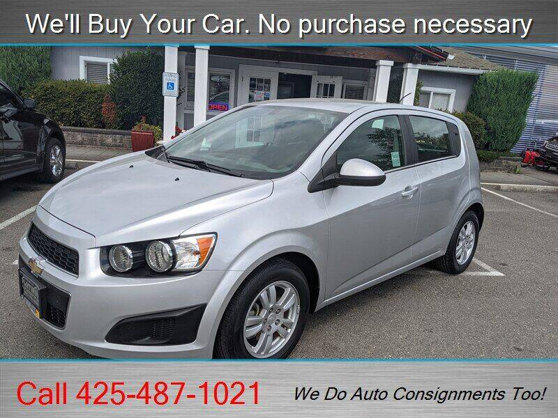 2015 Chevrolet Sonic for sale at Platinum Autos in Woodinville WA
