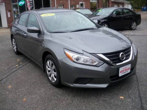 2017 Nissan Altima for sale at Charlies Auto Village in Pelham NH
