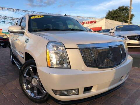 2011 Cadillac Escalade ESV for sale at Cars of Tampa in Tampa FL