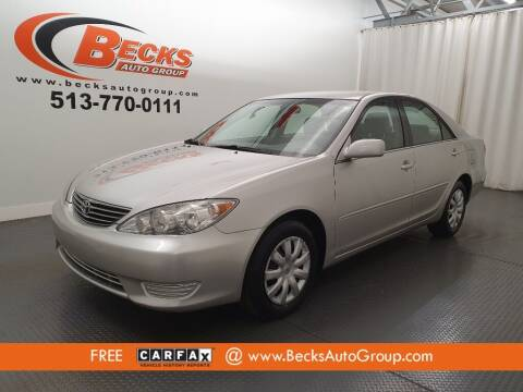 2006 Toyota Camry for sale at Becks Auto Group in Mason OH