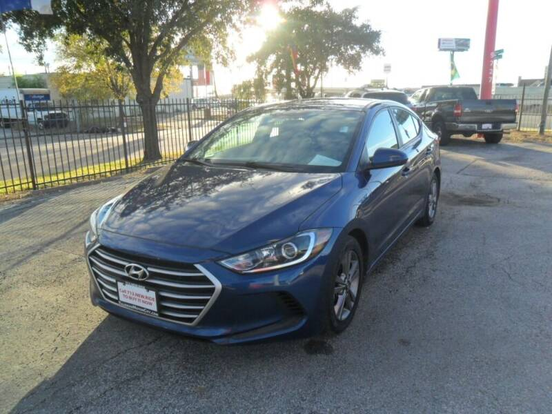 2017 Hyundai Elantra for sale at Talisman Motor City in Houston TX