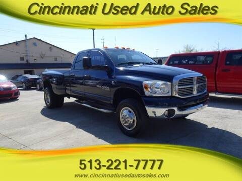 2006 Dodge Ram Pickup 3500 for sale at Cincinnati Used Auto Sales in Cincinnati OH