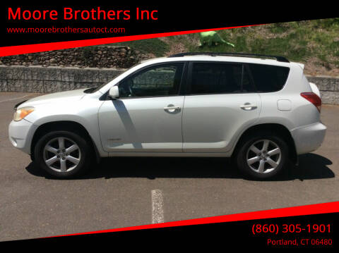 2007 Toyota RAV4 for sale at Moore Brothers Inc in Portland CT