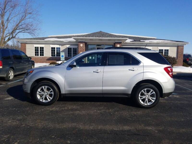 2017 Chevrolet Equinox for sale at Pierce Automotive, Inc. in Antwerp OH