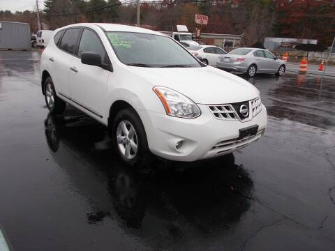 2012 Nissan Rogue for sale at MATTESON MOTORS in Raynham MA