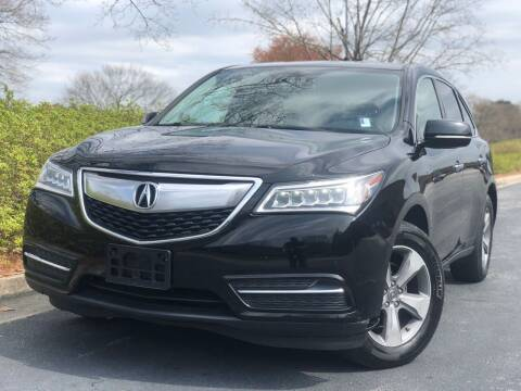 2014 Acura MDX for sale at William D Auto Sales in Norcross GA