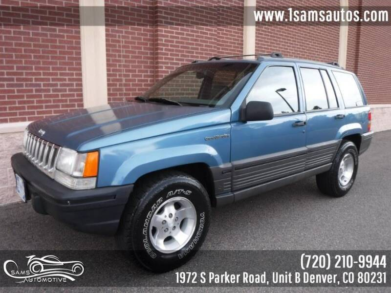 1994 Jeep Grand Cherokee for sale at SAM'S AUTOMOTIVE in Denver CO