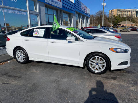 2016 Ford Fusion for sale at Brian Jones Motorsports Inc in Danville VA