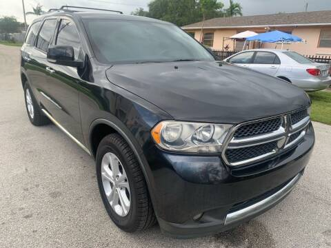 2013 Dodge Durango for sale at Eden Cars Inc in Hollywood FL