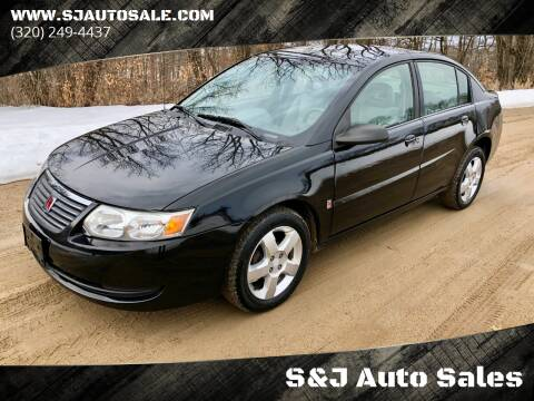 2007 Saturn Ion for sale at S&J Auto Sales in South Haven MN