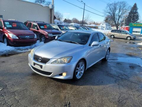2007 Lexus IS 250 for sale at MOE MOTORS LLC in South Milwaukee WI