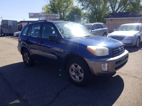 2003 Toyota RAV4 for sale at Dave Ducharme's Auto Sales in Lowell MA