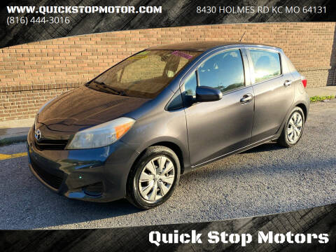 2012 Toyota Yaris for sale at Quick Stop Motors in Kansas City MO