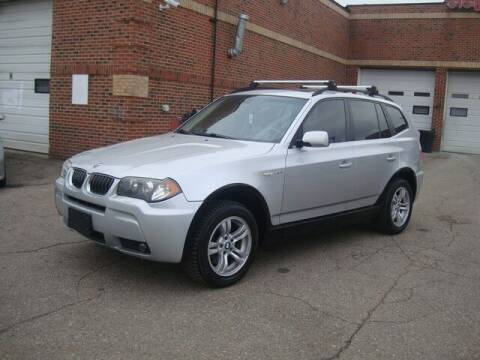 2006 BMW X3 for sale at MOTORAMA INC in Detroit MI