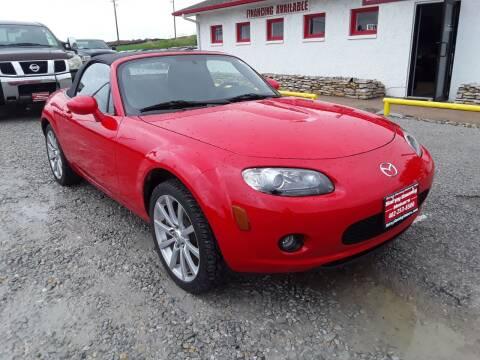 2007 Mazda MX-5 Miata for sale at Sarpy County Motors in Springfield NE