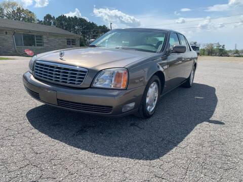 2000 Cadillac DeVille for sale at Hillside Motors Inc. in Hickory NC