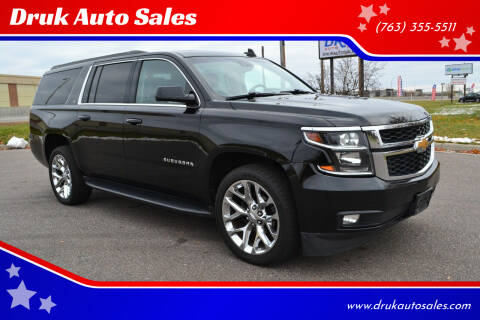 2018 Chevrolet Suburban for sale at Druk Auto Sales in Ramsey MN