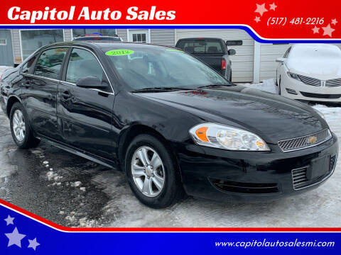 2012 Chevrolet Impala for sale at Capitol Auto Sales in Lansing MI