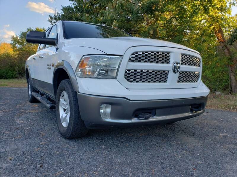 2013 RAM Ram Pickup 1500 for sale at Jacob's Auto Sales Inc in West Bridgewater MA