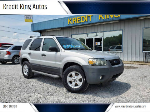 2007 Ford Escape for sale at Kredit King Autos in Montgomery AL