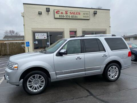 2013 Lincoln Navigator for sale at C & S SALES in Belton MO