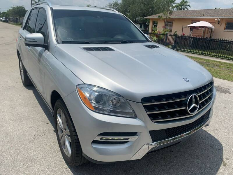 2015 Mercedes-Benz M-Class for sale at Eden Cars Inc in Hollywood FL