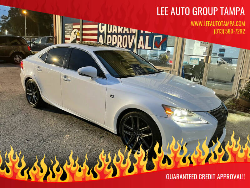 2015 Lexus IS 250 for sale at Lee Auto Group Tampa in Tampa FL