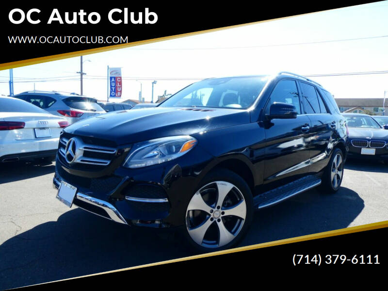 2016 Mercedes-Benz GLE for sale at OC Auto Club in Midway City CA