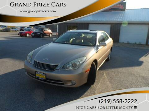 2006 Lexus ES 330 for sale at Grand Prize Cars in Cedar Lake IN