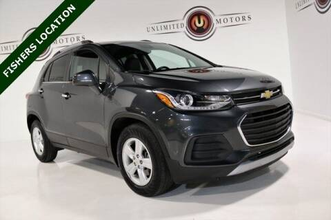 2017 Chevrolet Trax for sale at Unlimited Motors in Fishers IN