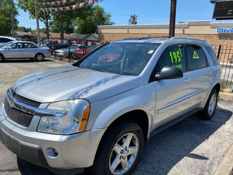 2005 Chevrolet Equinox for sale at Carfast Auto Sales in Dolton IL