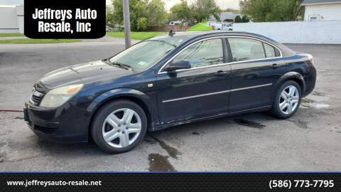 2008 Saturn Aura for sale at Jeffreys Auto Resale, Inc in Clinton Township MI