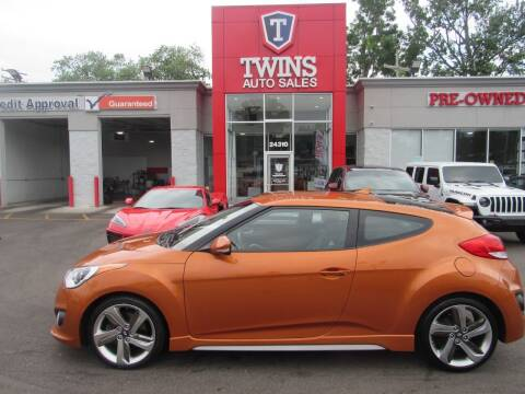 2015 Hyundai Veloster for sale at Twins Auto Sales Inc in Detroit MI