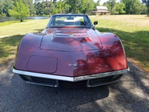1970 Chevrolet Corvette for sale at Hines Auto Sales in Marlette MI