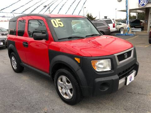 2005 Honda Element for sale at I-80 Auto Sales in Hazel Crest IL