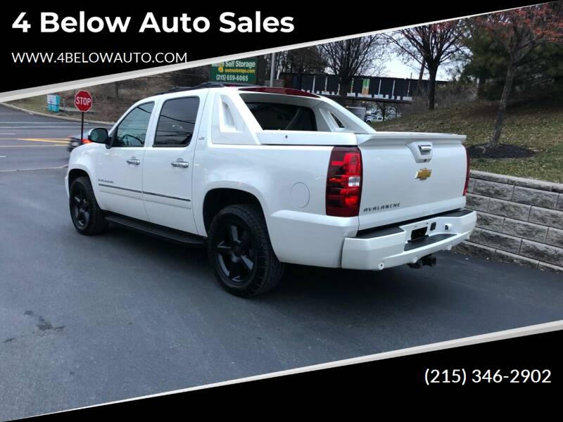 2012 Chevrolet Avalanche for sale at 4 Below Auto Sales in Willow Grove PA