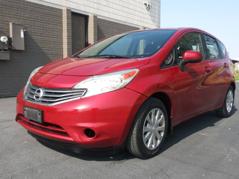 2014 Nissan Versa Note for sale at AUTOMOTIVE SOLUTIONS in Salt Lake City UT