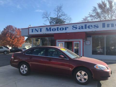 2007 Chevrolet Impala for sale at TNT Motor Sales in Oregon IL
