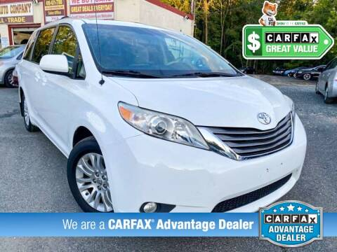2012 Toyota Sienna for sale at High Rated Auto Company in Abingdon MD